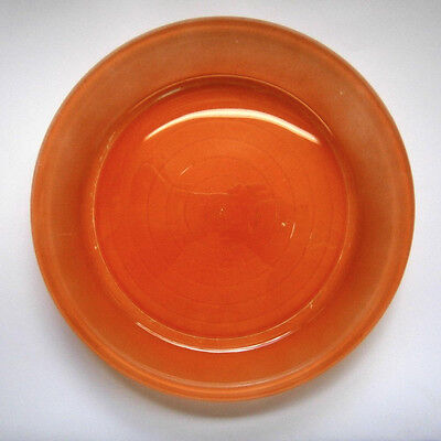 Very Old Vintage Agee Australian Pyrex Glass 24Cm Red Pie Plate