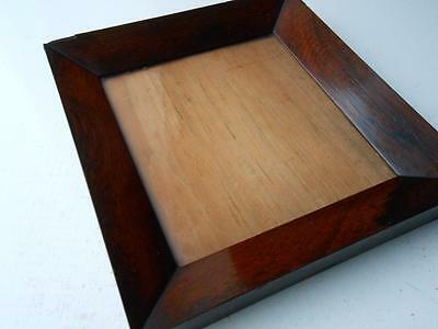 Superb Antique 19Th Century Georgian Rosewood Picture Frame Great Color Patina
