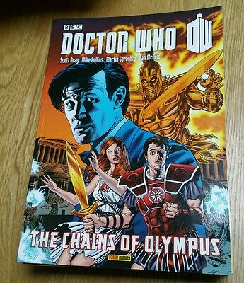 Doctor Who - The Chains Of Olympus - Graphic Novel Matt Smith Dr Who Comic Bbc