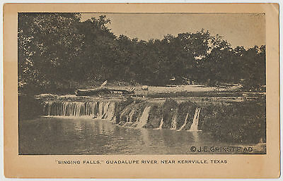 Singing Falls, Guadalupe River near Kerrville, Texas