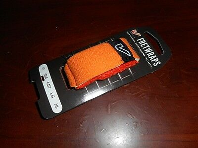 "NEW - Gruv Gear Fretwraps Professional String Muter ""Flare"" - SMALL ORANGE"