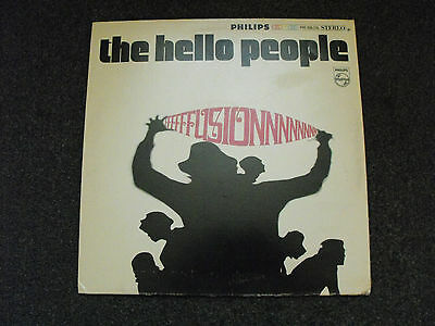 The Hello People - Fusion . 1968 US 1st Press In Gatefold Sleeve