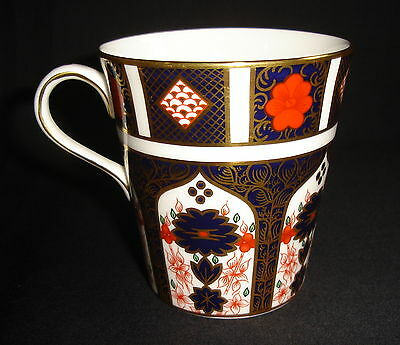 Royal Crown Derby Old Imari 1128 Mug - 1st Quality