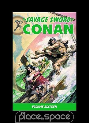 Savage Sword Of Conan Vol 16 - Softcover Graphic Novel