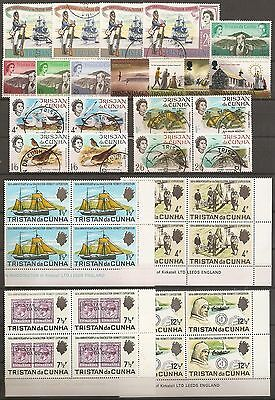 Tristan Da Cunha Qe2 Various Unmounted Mint & Fine Used Sets [Q108]