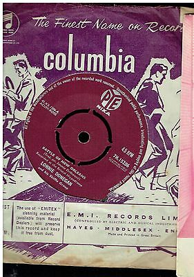 Lonnie Donegan Battle Of New Orleans 45 1959