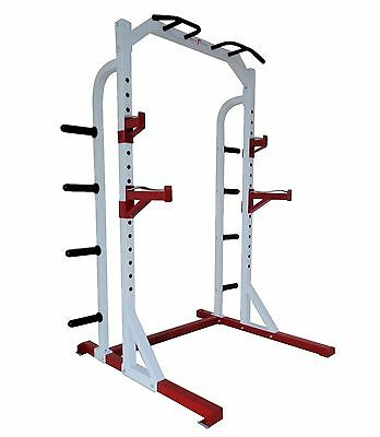 Nero Olympic Power Rack Squat Stand Weight Cage Multi Gym Pull up bar Heavy Duty