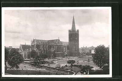 tolle AK Dublin, St. Patrick´s Cathedral