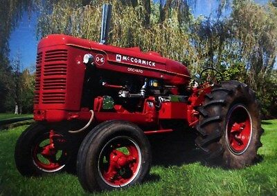 Antique International Harvester/McCormick Orchard Grove Tractor #06. Rare. 1945.