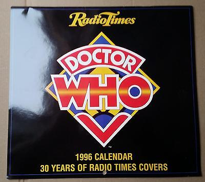 SIGNED Doctor Who Calendar 1996 Limited Edition Radio Times Covers - Colin Baker
