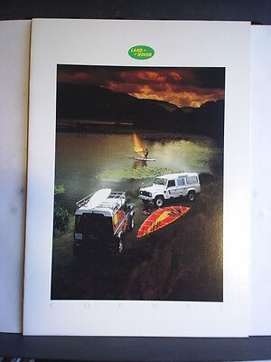 Land Rover County - Ninety / One Ten - Sales Brochure - 1986