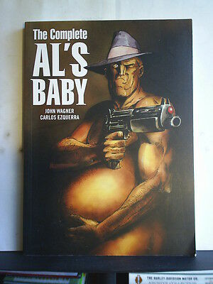 GRAPHIC NOVEL: THE COMPLETE AL'S BABY - Paperback 2010 1st print 2000AD