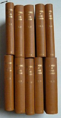 The Works Of Samuel Johnson, 10 Volumes, 1816