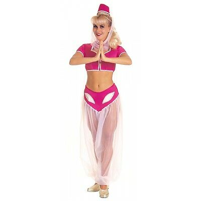 I Dream of Jeannie Costume Adult Genie Halloween Fancy Dress