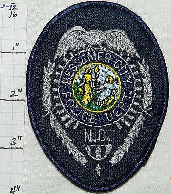 North Carolina, Bessemer City Police Dept Patch