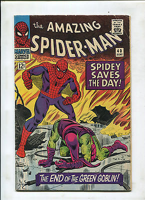 The Amazing Spider-Man #40 (4.5) The End Of The Green Goblin!