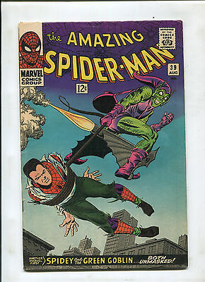 The Amazing Spider-Man #39 (4.0) Spidey And The Green Goblin Unmasked!