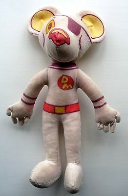 Original Vintage Dangermouse Danger Mouse Plush Soft Tv Cartoon Retro Toy