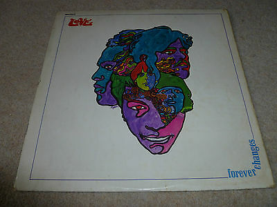 LOVE-Forever Changes VINYL LP UK ELECTRA ORIG 1st PRESSING A1/B1 STEREO