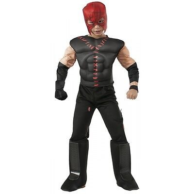 Muscle Chest Kane Costume WWE Halloween Fancy Dress