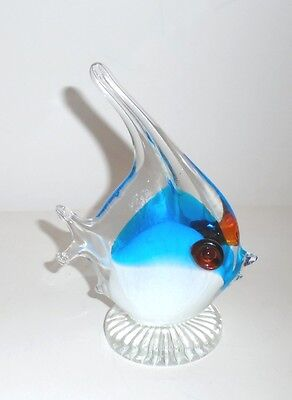 "6-1/4"" tall Art Glass Fish Figurine"