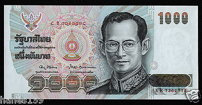 THAILAND (P092a) 1000 Baht ND(1992) aUNC/XF+ sign. 67