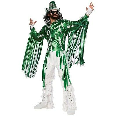 Macho Man Randy Savage Costume Adult WWE Wrestler Halloween Fancy Dress