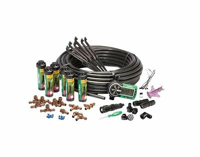 Easy Install In-Ground Automatic Rotary Sprinklers Grass Irrigation System Timer