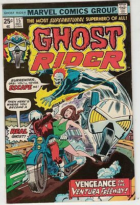 Ghost Rider 15 The strict NM- 9.2 High-Grade C'ville Certificate run just listed
