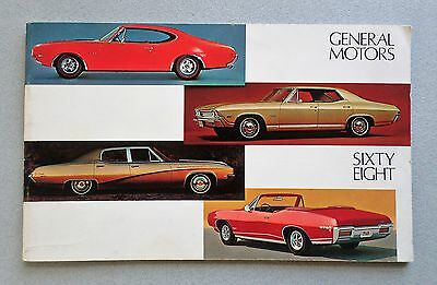 1968 GM Booklet (1) for BUICK, CADILLAC, CHEVROLET, OLDS, PONTIAC