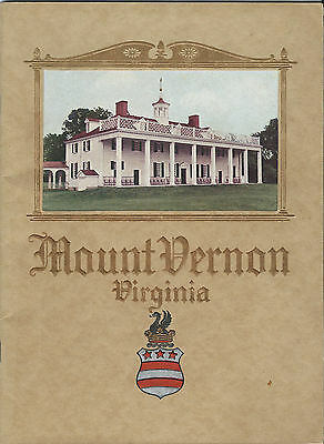 An Illustrated Handbook Of Mount Vernon 1936 Great Pics And Info