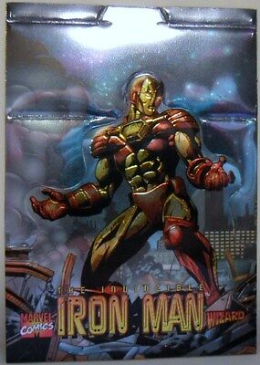 Iron Man 1997 Wizard Special - Die Cut Standup - Foil Promo card