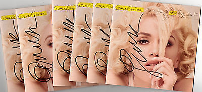 Gwen Stefani REAL hand SIGNED This Is What Truth Feels Like CD cover w/ COA
