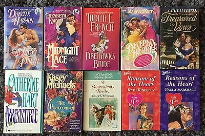 10 x HISTORICAL Romance Novel Bundle | Bulk Lot ~ Maxwell, French, Michaels++