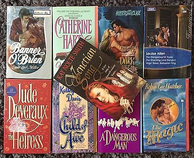 9 x HISTORICAL Romance Novel Bundle | Bulk Lot ~ Deveraux, Hatcher, Rogers++