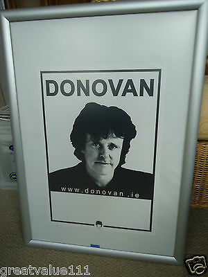 Donovan Concert Gig Poster 2003Unreleased Draft Gig Poster Rare Mint Collectible