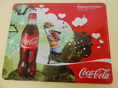 TARGA INSEGNA COCA COLA  HAPPINESS FACTORY 28x35cm