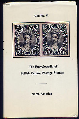 ENCYCLOPAEDIA of BRITISH EMPIRE STAMPS Vol.5 NORTH AMERICA by ROBSON LOWE