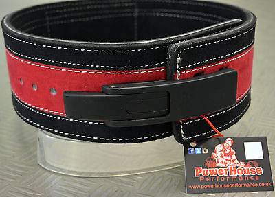 Powerhouse Performance 10mm lever Weight Lifting belt, powerlifting
