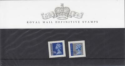 GB - PRESENTATION PACK - PACK NO 89 - MACHIN DEFINITIVES - special delivery