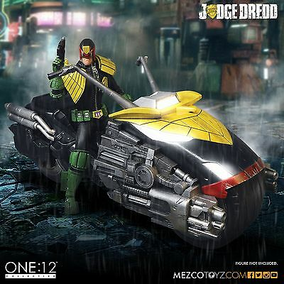 Mezco One:12 Collective Judge Dredd's Lawmaster Motorcycle ~Brand New~