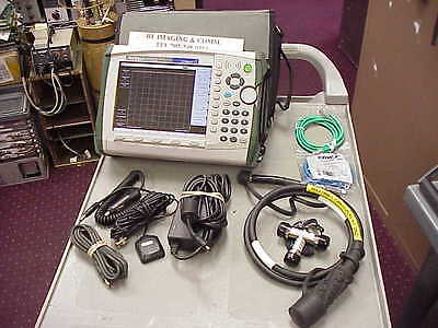 Anritsu Mt8222A Bts Master Sitemaster Lte Testing With Cable And Cal Kit