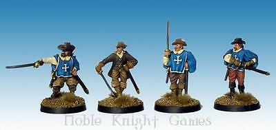 Ainsty 28mm Miniature Musketeers #1 Pack MINT