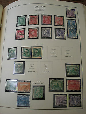 US Lot of 24 Panama - Pacific Exposition & Franklin Washingtons IMPERFS Pilgrims
