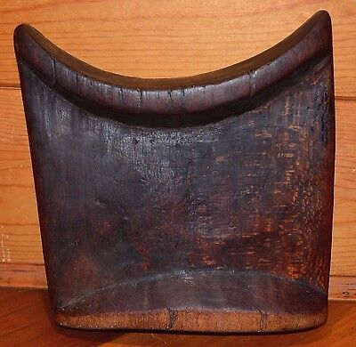 Antique African Ethiopian Sinamo Tribe Hand Carved Wood Headrest Ethiopia Africa