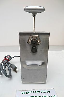 Edlund 266 Single speed Tabletop Commercial SS Electric Can Opener 115V USA