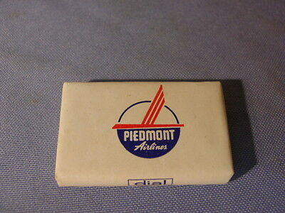 Vintage Piedmont Airlines Route Of The Pacemakers Dial Advertising Soap Bar
