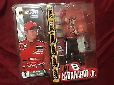 Mcfarlane 04 Dale Earnhardt Jr NASCAR Special Edition Statue Figure Stand 8 Car