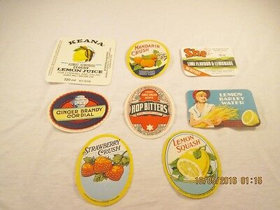 Vintage Unused Soda and Other Drink Labels #24