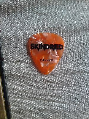 Skindred Personal Plectrum (Union Black-Warning) Used@download Festival 2011